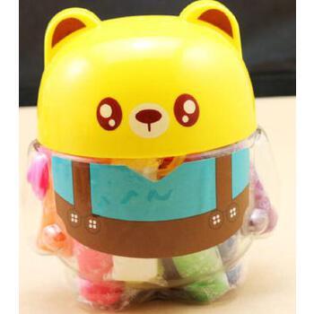 新款包邮 晨光文具 12色彩泥套装玩具 橡皮泥 卡通熊猫 安全 无毒 _小