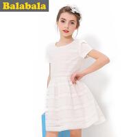 巴拉巴拉balabala女童连衣裙夏装新品童装