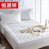 恒源祥床垫 床褥子保暖 可折叠100%羊毛冬季床垫 加厚正品