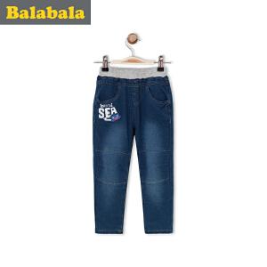 巴拉巴拉童装 男童长裤小童宝宝童裤春装儿童裤子男