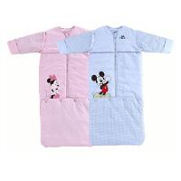 迪士尼宝宝睡梭织成长睡袋50*110cm  奇幻之旅加兜脱袖睡袋120*52cm
