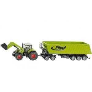 [当当自营]siku 德国仕高 1:50 拖拉机带前端装载机 合金车模玩具 U1949