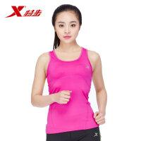 特步 运动跑步健身透气舒适女款运动背心