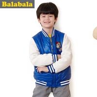巴拉巴拉balabala童装 男童棉服中大童棉衣2015儿童冬装新款