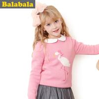 【6.26巴拉巴拉超级品牌日】巴拉巴拉balabala童装女童 毛衫 中大童上衣2015儿童冬装新款