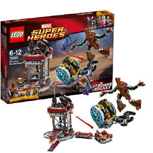 [当当自营]LEGO 乐高 超极英雄系列 一线生机逃脱任务 积木拼插儿童益智玩具 76020