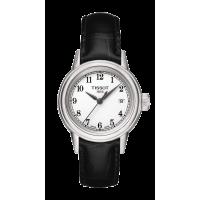 Tissot 瑞士天梭卡森石英女表T085.210.16.012.00皮带手表