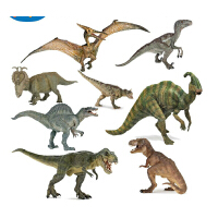 papo恐龙模型 侏罗纪公园 冰河世纪 猛犸象(长毛象)  行走暴龙霸王龙非棘背龙食肉牛龙 法国仿真模型 采用手工涂装 侏罗纪世界仿真恐龙大号腕龙 雷龙 妖精翼龙 甲龙 行走暴龙 戟龙 无齿翼龙 模型