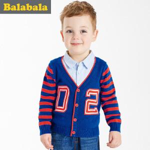 巴拉巴拉童装男童毛衣小童毛线衣宝宝毛衫春装儿童针织衫