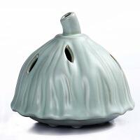 尚帝 莲蓬造型熏香炉 汝窑香炉 熏香炉陶瓷XMBH2014-267A1