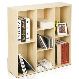 [当当自营]慧乐家 鲁比克创意七格柜 白枫木色 11049-1