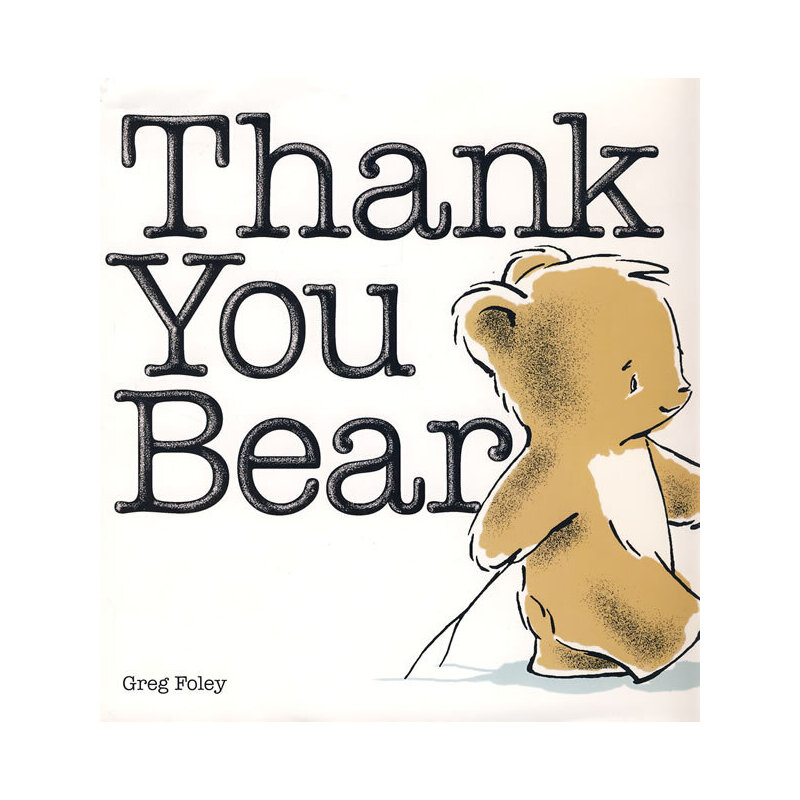 thank you bear谢谢你小熊