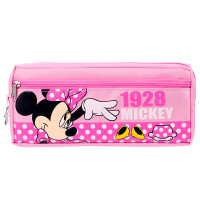 迪士尼(Disney)DM5620-2 米妮大容量笔袋女/多功能学生文具袋铅笔袋颜色随机 当当自营