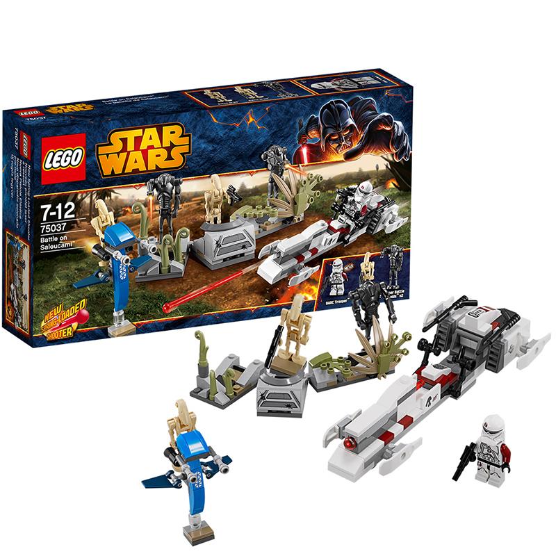 LEGO 乐高 星球大战系列 战斗套装系列 - 萨鲁卡米战役 积木拼插儿童益智玩具 75037【当当自营】适合7-12岁,178pcs 乐高积木 拼装玩具