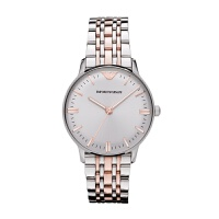 Armani阿玛尼 新品 玫瑰金色石英表女士手表AR1603 女士经典腕表