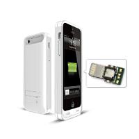 iFANS iphone5c背夹电池超薄移动电源 聚合物苹果5c手机壳充电宝包邮