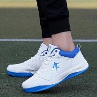 货到付款 新款男士篮球鞋透气跑步鞋男慢跑鞋休闲运动鞋男防滑旅游鞋学生超轻小白鞋45#大码