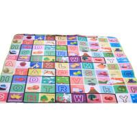 澳乐双面宝宝爬行垫游戏垫环保加厚防滑耐磨婴儿爬行毯200x180x0.5厘米