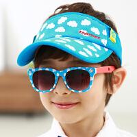 【单帽不含太阳镜】kocotree儿童帽子春秋空顶帽宝宝帽子鸭舌帽男女童遮阳帽