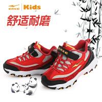 【鸿星尔克童鞋】童鞋秋冬新款儿童运动鞋男童加棉休闲减震耐磨鞋