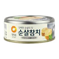 [当当自营] 韩国进口 清净园 CHUNGJUNGONE  清净园金枪鱼原味罐头 135g