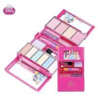 迪士尼正品儿童公主化妆盒套装女童化妆品表演专用彩妆盒玩具礼物 六一生日礼物