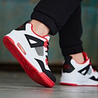 鸿星尔克新款童鞋儿童篮球鞋男童春秋新款运动鞋中大童时尚运动鞋
